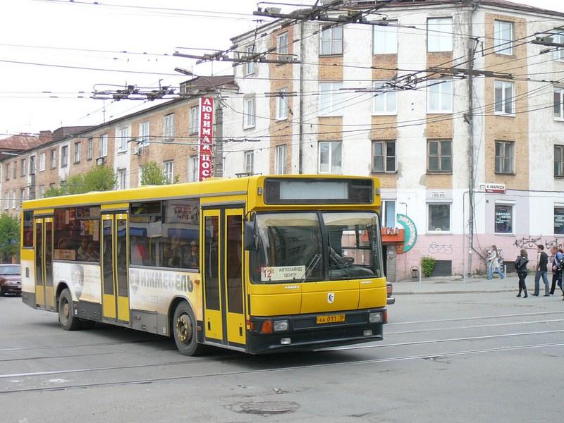Изменение маршрутов автобусов